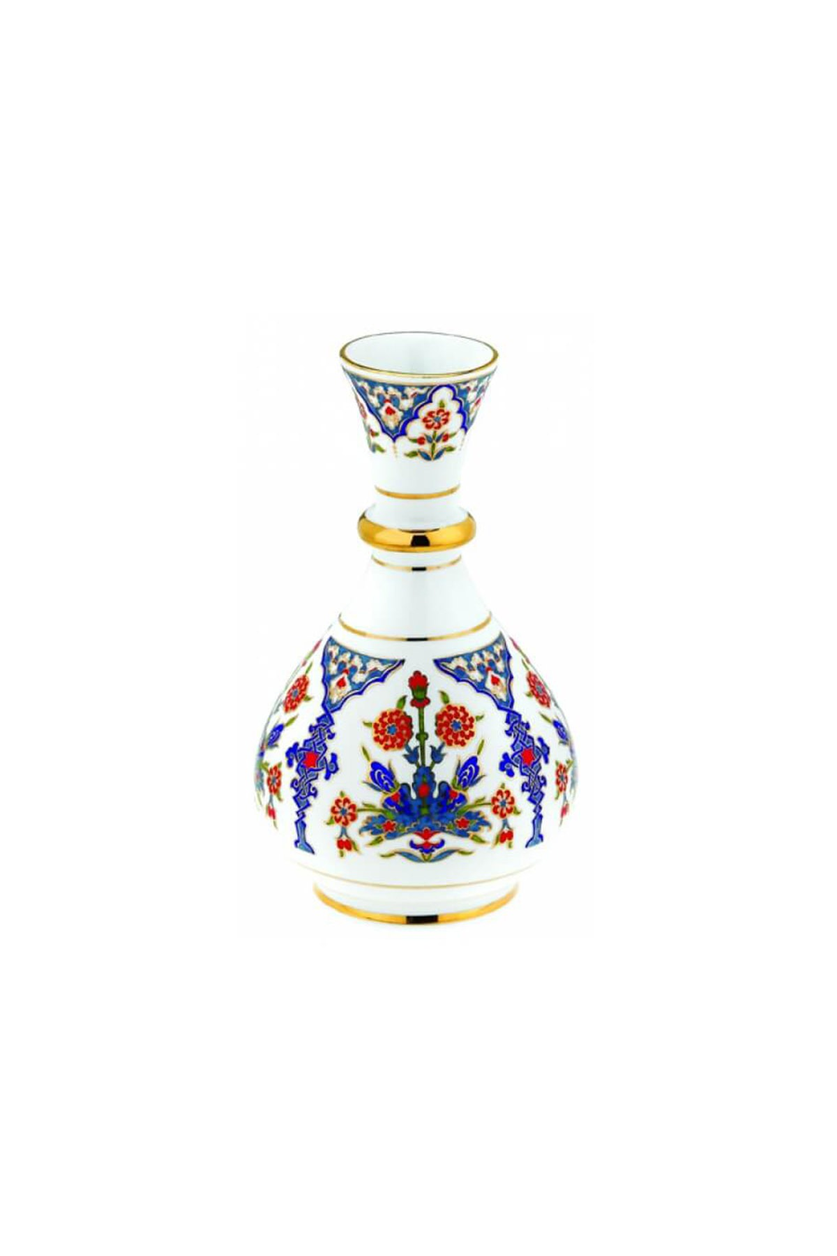 Kütahya Porselen - Kütahya Porselen 20 Cm Haliç Vazo Dekor No:422