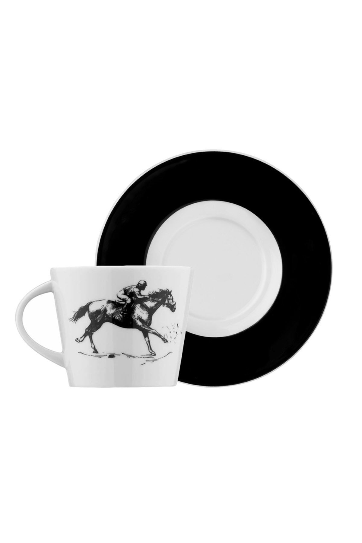 Kütahya Porselen - Kütahya Porselen Centilmen Serisi Kahve Fincan Takımı At