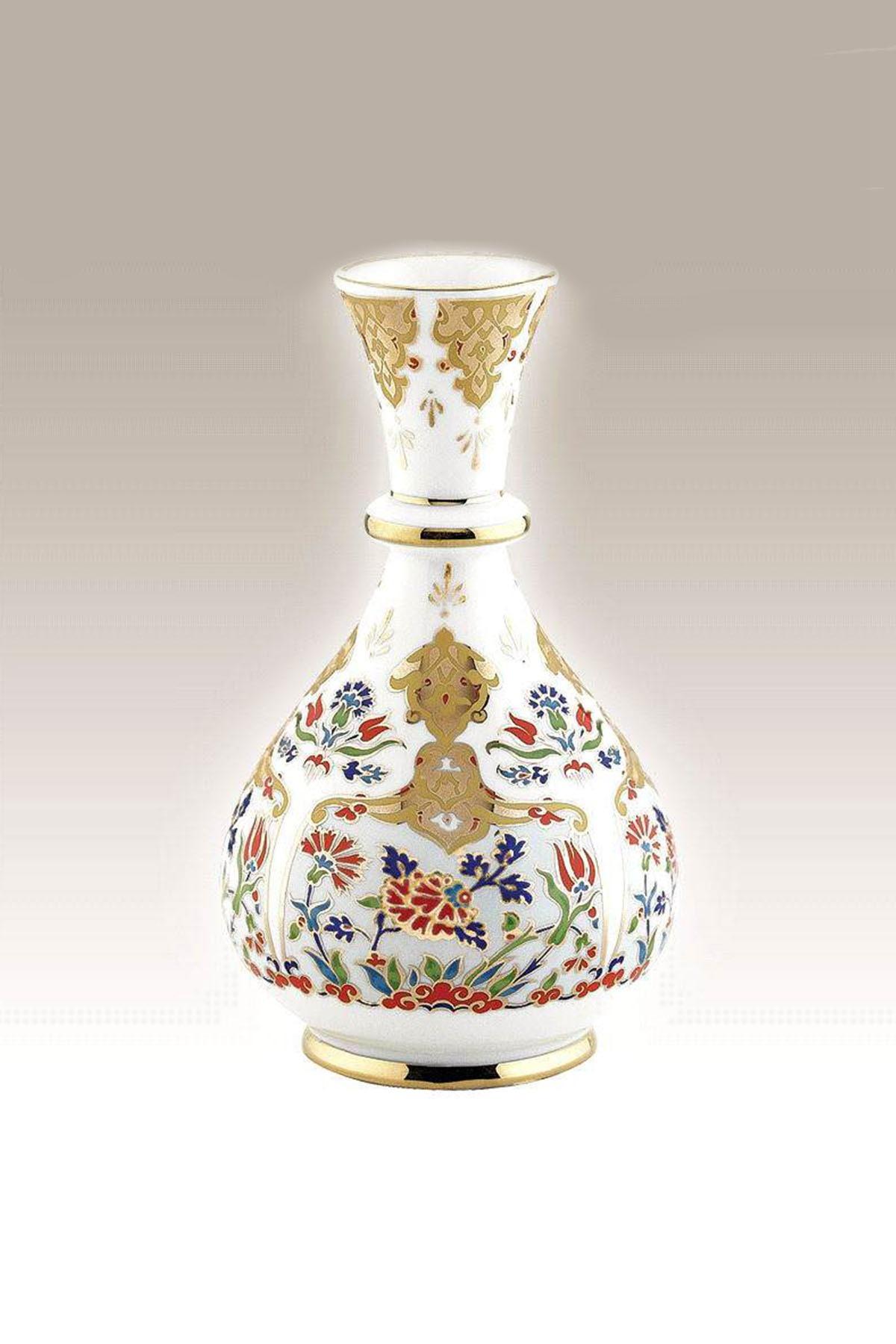 Kütahya Porselen - Haliç Vazo 20 Cm Dekor No:412