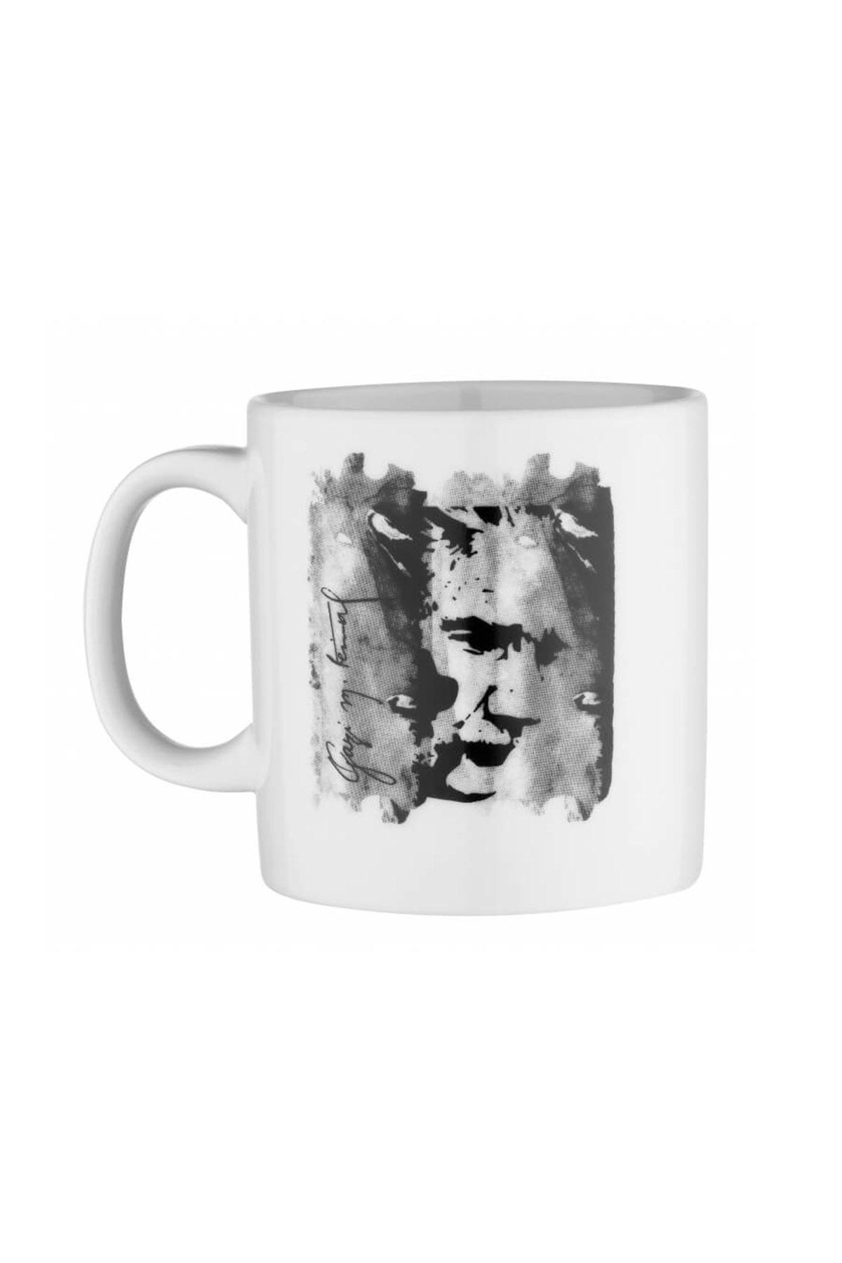 Kütahya Porselen - Kütahya Porselen Mug Bardak Special Coll. Atatürk 10430